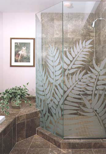 frosted-glass-shower-doors